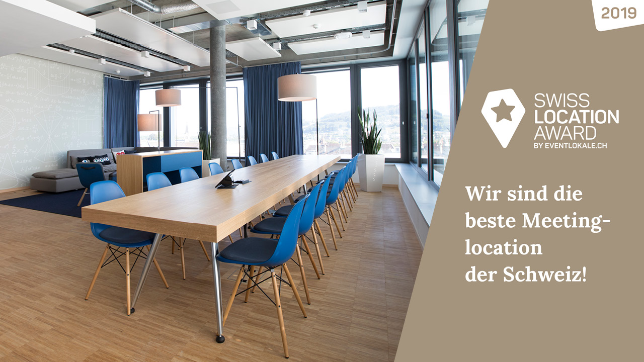 Swiss Location Award 2019 Welle7 Workspace