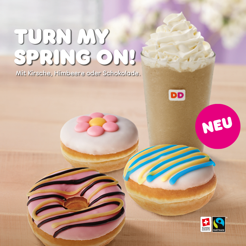 Dunkin Donuts Springtime